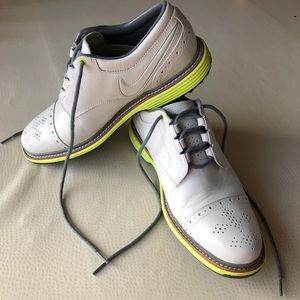 RARE Nike Lunar Clayton Leather Golf Shoes
